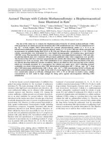 Aerosol Therapy with Colistin Methanesulfonate - Antimicrobial Agents ...