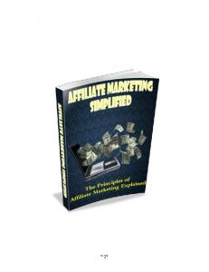 Affiliate Marketing Simplified - WordPress.com