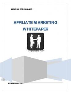 AFFILIATE MARKETING WHITEPAPER