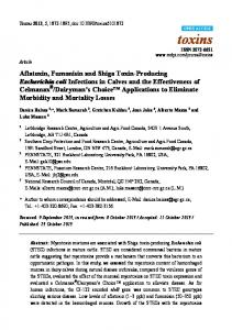 Aflatoxin, Fumonisin and Shiga Toxin-Producing ... - BioMedSearch