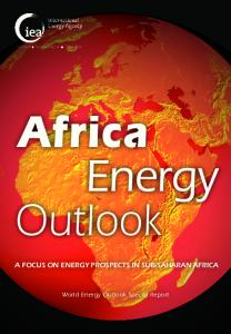Africa Energy Outlook - World Energy Outlook Special