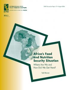 Africa's Food and Nutrition Security Situation: Where ... - AgEcon Search