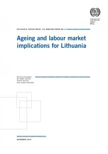 Ageing and labour market implications for Lithuania - ILO