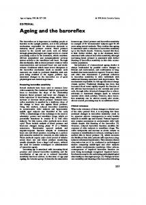 Ageing and the baroreflex