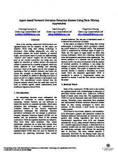 Agent-based Network Intrusion Detection System Using ... - IEEE Xplore
