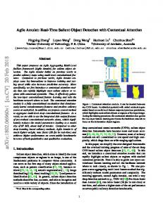 Agile Amulet: Real-Time Salient Object Detection with Contextual ...