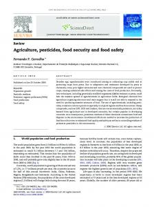 Agriculture, pesticides, food security and food safety - Jeffrey Dach MD