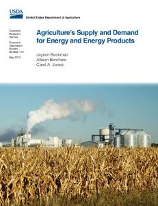 Agriculture's Supply and Demand for Energy and Energy ... - USDA ERS