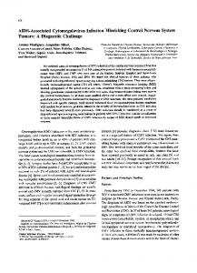 AIDS-Associated Cytomegalovirus Infection ... - Semantic Scholar