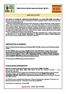 aims and scope abstracting & indexing publication ... - Eprints undip