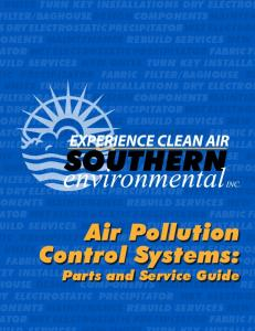 Air Pollution Control Systems: - Southern Environmental