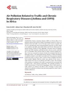 Air Pollution Related to Traffic and Chronic