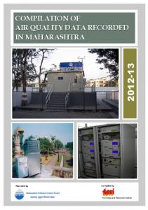 Air Qualtiy Report 2012-13 - Maharashtra Pollution Control Board
