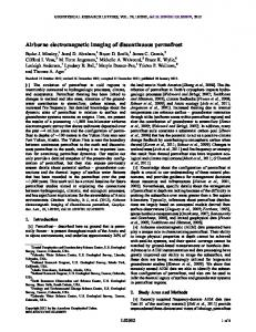 Airborne electromagnetic imaging of ... - Wiley Online Library