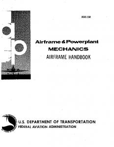 Airframe a Powerplant MECHANICS