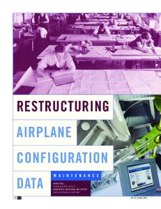 AIRPLANE CONFIGURATION DATA RESTRUCTURING
