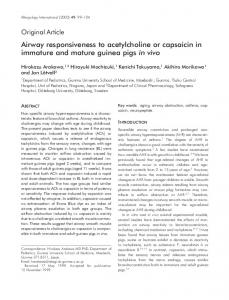Airway responsiveness to acetylcholine or ... - Wiley Online Library