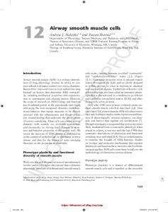 Airway smooth muscle cells