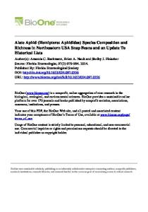 Alate Aphid - Department of Entomology
