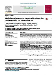 Alcohol septal ablation for hypertrophic obstructive cardiomyopathy - 8