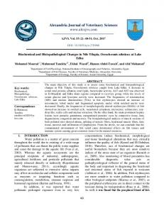 Alexandria Journal of Veterinary Sciences www ...