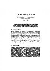 Algebraic geometry over groups