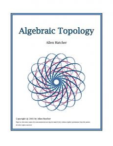 Algebraic Topology - Cornell University