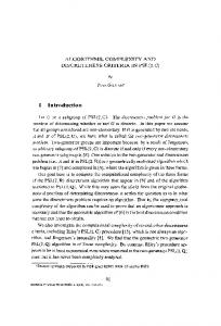 Algorithms, complexity and discreteness criteria in PSL ... - Springer Link