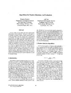 Algorithms for Feature Selection: An Evaluation - Pattern Recognition
