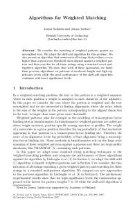 Algorithms for Weighted Matching - Semantic Scholar