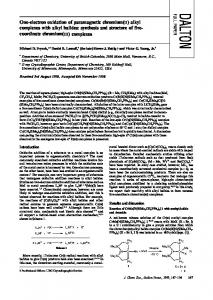 alkyl complexes with alkyl halides - CiteSeerX