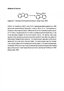 Alkylation of fluorene. Figure 3.11 Synthesis of 9,9 ...