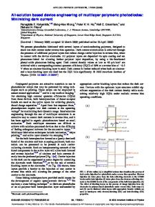 All-solution based device engineering of multilayer polymeric ...