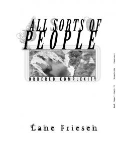 All Sorts of People - Ordered Complexity August 22 ...