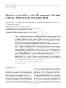 Allergic conjunctivitis: a national cross-sectional study ...