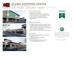 ALOMA SHOPPING CENTER