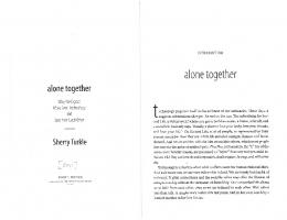 alone together - Carleton College