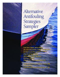 Alternative Antifouling Strategies Sampler