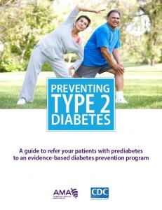 AMA-CDC Prediabetes Tool Kit