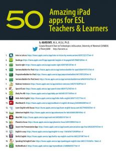 Amazing iPad apps for ESL Teachers & Learners