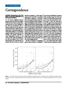 Ambient Temperature and the Rates of Adverse Reactions of Pertussis ...