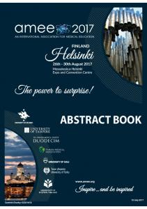 AMEE 2017 Abstract Book