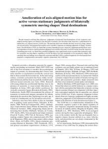 Amelioration of axis-aligned motion bias for active ... - Springer Link