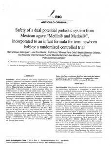 """""""Metlin® and Metlos®"""", incorporated to an infant ..."""