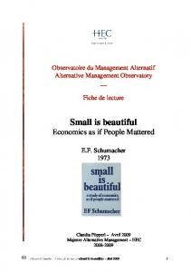 AMO_Small is beautiful - HEC Paris