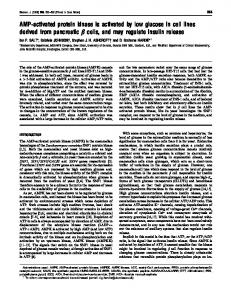 AMP-activated protein kinase is activated by low ... - Semantic Scholar