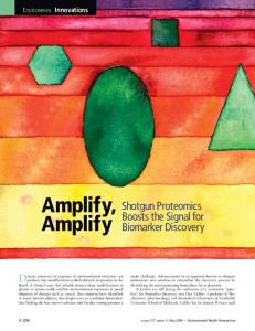Amplify, Amplify - Environmental Health Perspectives