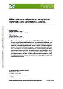 AMS-02 electrons and positrons: astrophysical interpretation and Dark ...
