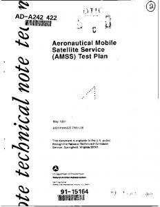 AMSS - Defense Technical Information Center