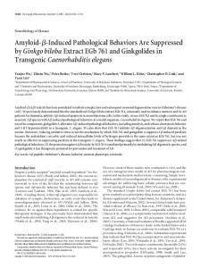 Amyloid - Journal of Neuroscience